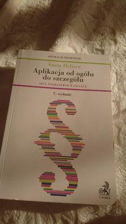 Aplikacja od ogółu do szczegółu akty normatywne w pigułce Aneta Helios