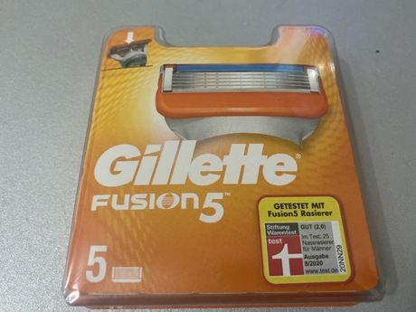 Змінні картриджі (касети) Gillette Fusion 5 шт. Оригінал