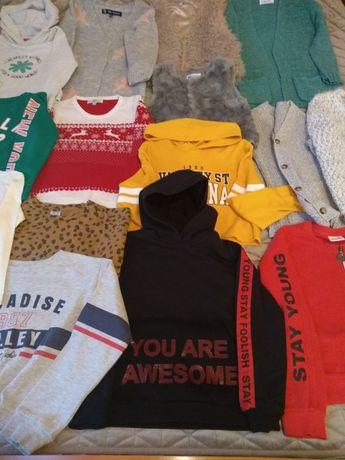 Bluzy i swetry 7 lat rozm 128