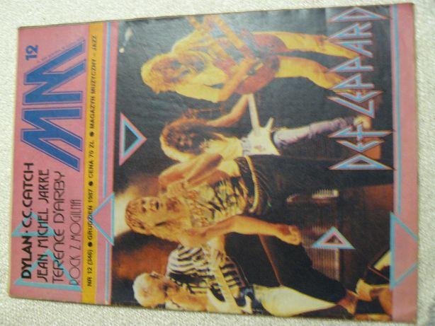 Czasopisma Magazyn Muzyczny z 1987 r.