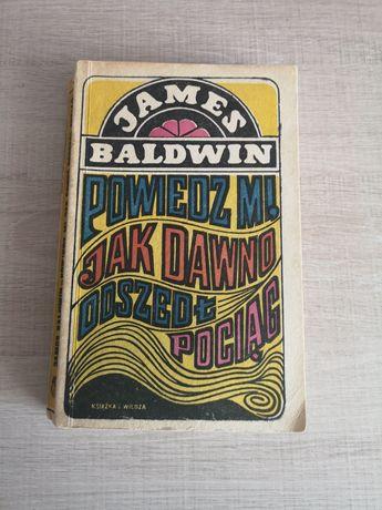 Książka--powiedz mi jak dawno doszedł pociąg