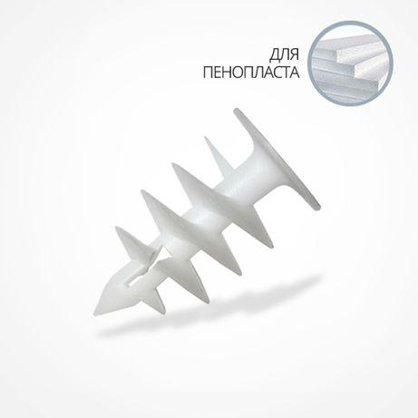 Дюбель Дрива Driva для пенопласта и XPS 27х52мм