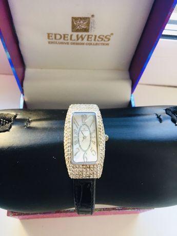 Часы Edelweiss с камнями Сваровски