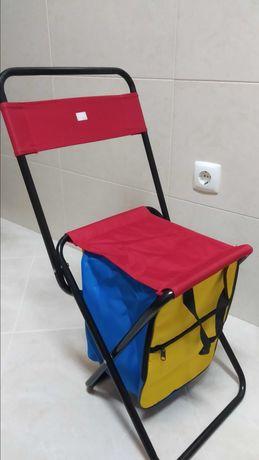 Cadeira com saco térmico