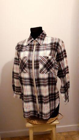 Koszula flanelowa w kratkę r. L/XL