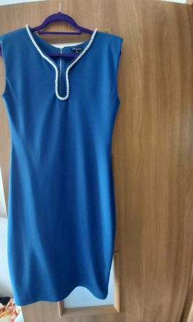 Sukienka niebieska M L 40