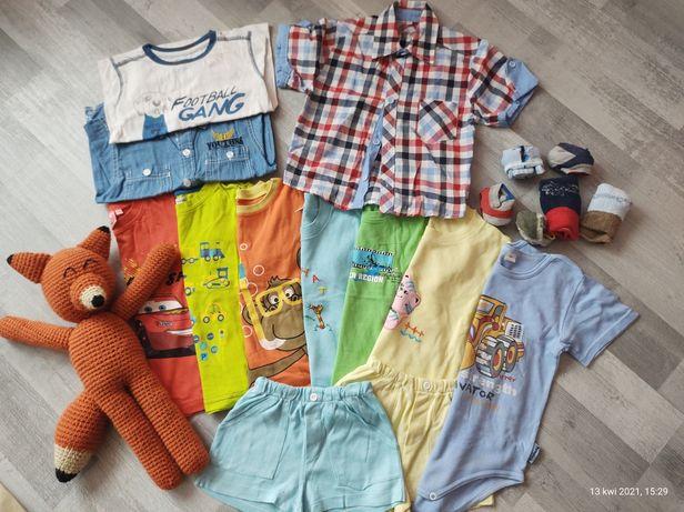 Zestaw bluzeczek dla chłopca rozmiar 92-98