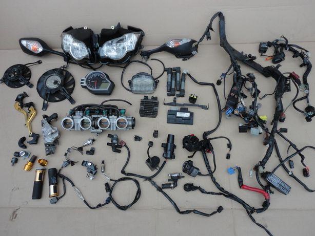 Honda CBR 1000 rr 09 фара приборка проводка инжектор вентилятор мозги