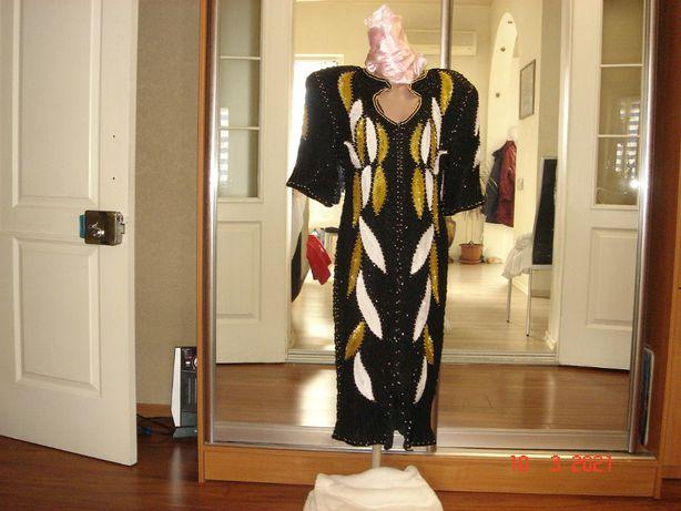 Вечернее платье. Индия. Ручная работа.р. 44 - 46