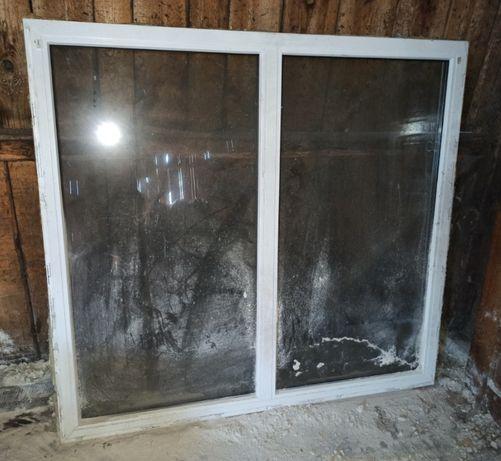 okno z demontażu 150 x 138
