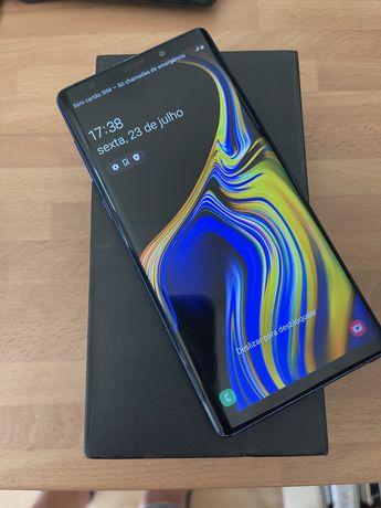 Samsung galaxy note 9 128gb desbloqueado(ACEITO RETOMA)