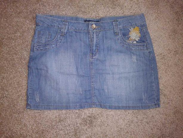 Zamienie jeansowe spodnice