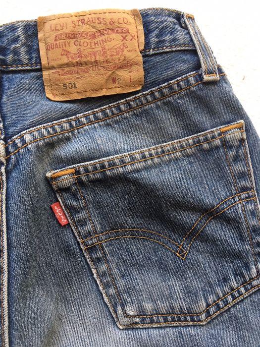 Spodnie Levi's 501 rozmiar W 23 L32