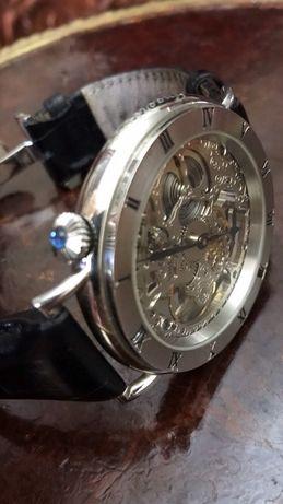 Часы механические Ingersoll скелетон limiter edition IN 7900 WNS