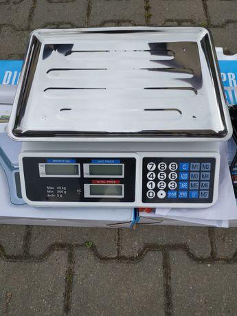 Waga elektroniczna sklepowa 40kg 150kg na akumulator Ostrowiec Św.