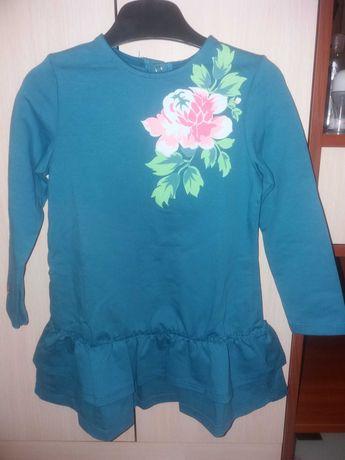 Новое платье плаття сукня Bembi для девочки 104 размер на 3-4 года