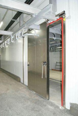 Холодильные камеры строим. двери.Промышленные ПВХ шторки.. МатериалUSA