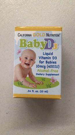 Витамин D3 детский California gold nutrition