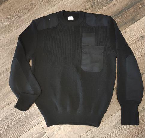 Sweter, wojskowy czarny