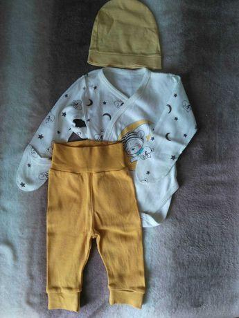 Дитячий одяг 56 розмір, бодіки, чоловічки, шапочки