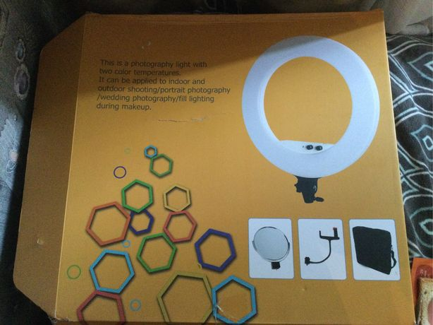 Лампа кольцевая Lumo LF-R480