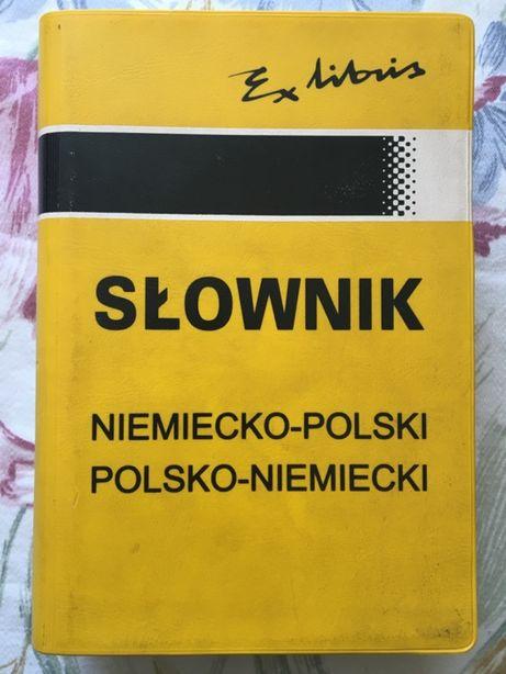Słownik Niemiecko-Polski Polsko-Niemiecki wyd. Ex Librus Olga Rutecka