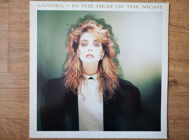 Sandra in the heat of the night 12 maxi single.