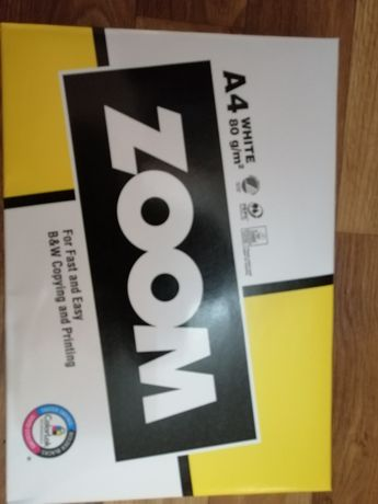 Бумага А 4 фирма Zoom