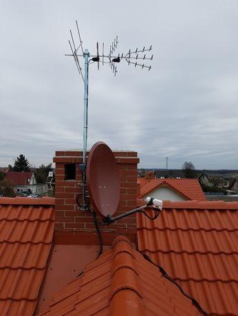 Anteny sat. i naziemne - Instalacja, montaż,naprawa Kórnik i okolice