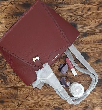 сумка MICHAEL KORS Whitney Pebbled Small оригинал цвет BRANDY