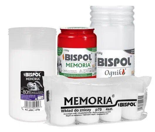 Свічки Bispol Memoria (Оригінал) Польща