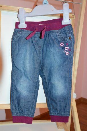 Jeansowe spodenki Baby Club firmy C&A rozm. 80