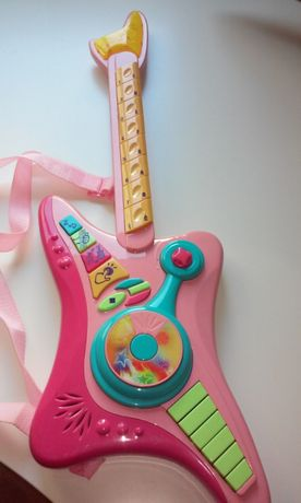 Guitarra sons e luzes