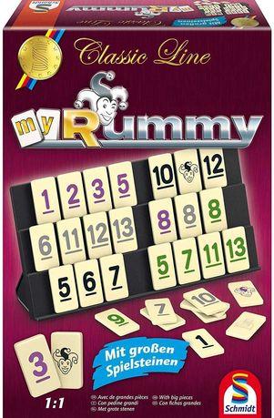 Schmidt Spiele 49282 Classic Line Gra MyRummy – brak el.