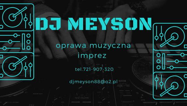 DJ MEYSON Oprawa Muzyczna Imprez