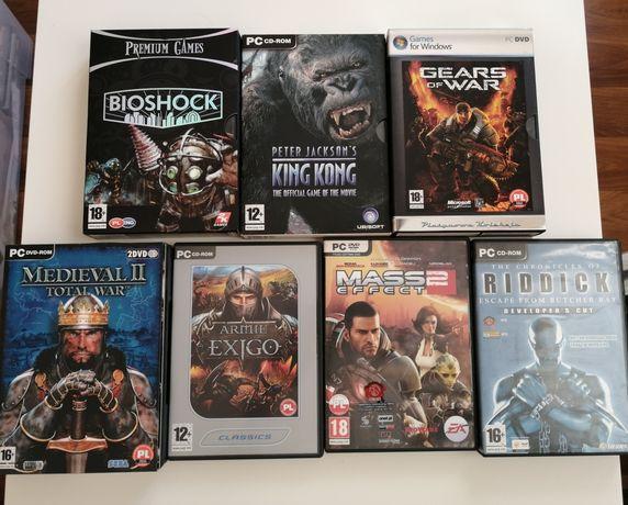 Gry PC-Bioshock, King Kong, Gears of War, Mass Effect 2