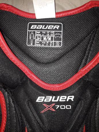 NOWY naramiennik hokejowy Bauer 135-145