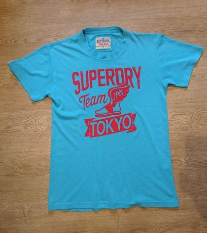 Футболка мужская Superdry размер XL (маломерка).