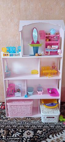 Домик для кукол Барби можно и меньше по росту.