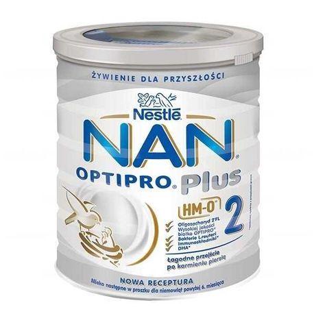NESTLE NAN OPTIPRO Plus mleko modyfikowane dla niemowląt 800g