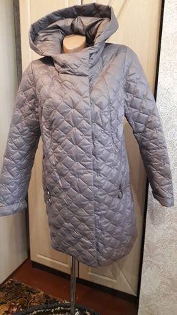 Стеганое пальто на синтепоне