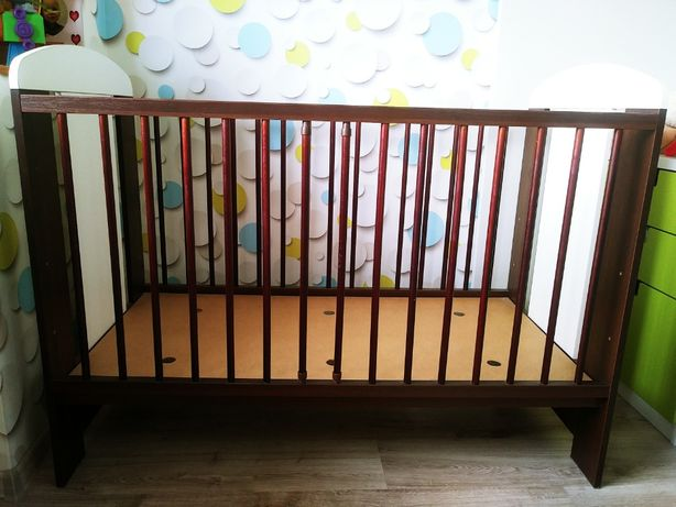 Łóżeczko niemowlęce Safari żyrafka 120X60