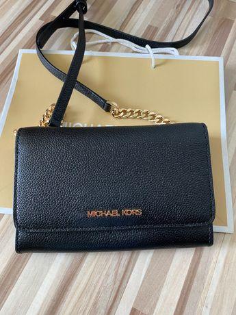 Nowa torebka-portfel 2w1 MICHAEL KORS czarna