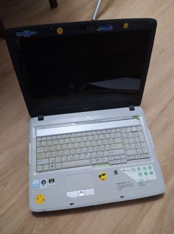 ноутбук Acer Aspire 7720ZG нерабочий, мертва видеокарта