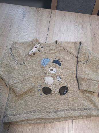 Sweterek chłopięcy 92 98