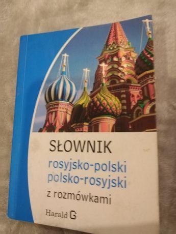 Zestaw trzech słowników języka rosyjskiego