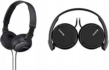 Słuchawki nauszne Sony MDR-ZX110AP Black-OKAZJA TANIO !