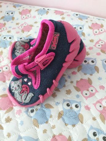 Buty Kapcie Befado roz. 20 dla dziewczynki