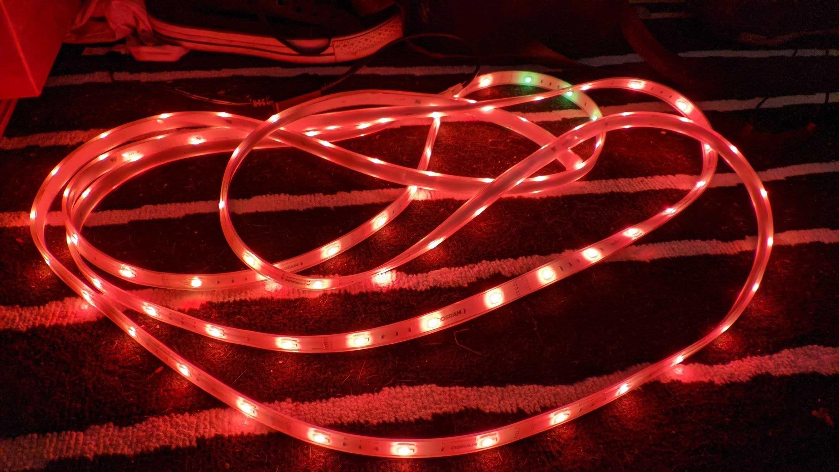 Taśma LED Osram Zigbee RGBW 5m wodoszczelna