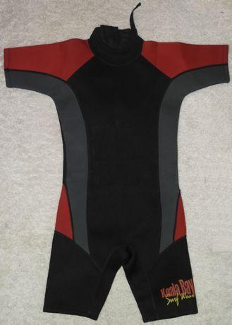 девочке koala bay 10-11лет гидрокостюм короткий серфинг SURF Wear